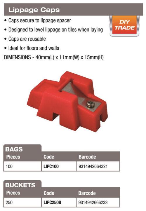 DTA Lippage Caps (100 Pack) 1