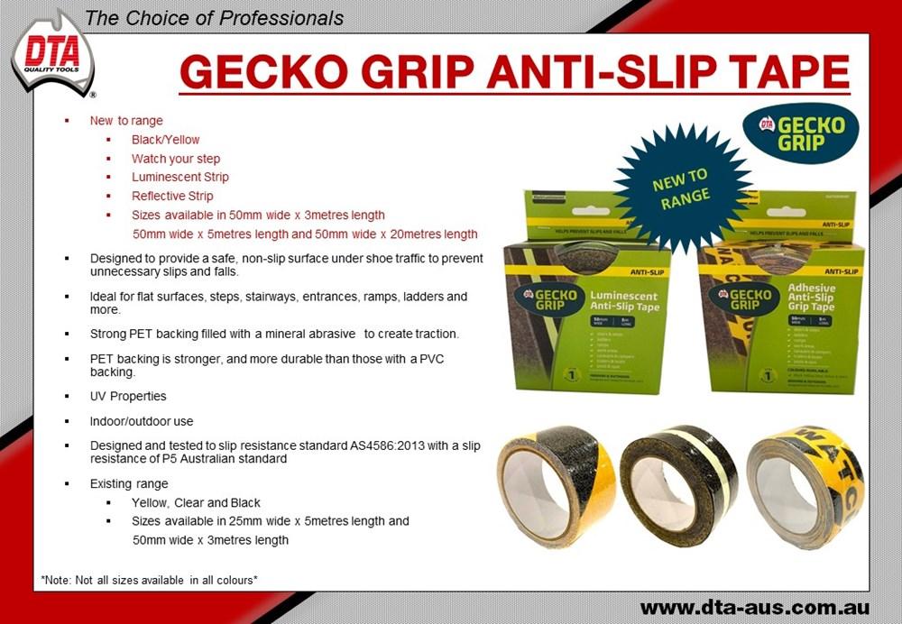 Gecko Grip Anti Slip Tape 50mm x 5m (Reflective) 2