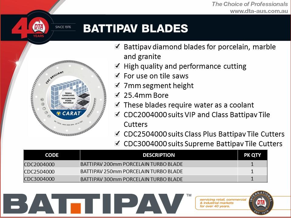 Battipav Turbo Diamond Blade 250mm 2