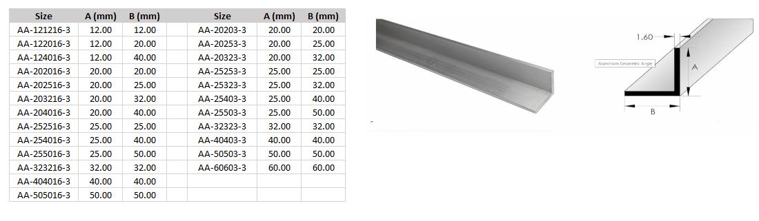 Geometric Size Guide