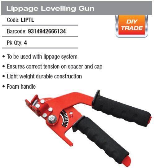 DTA Lippage Levelling Gun 1