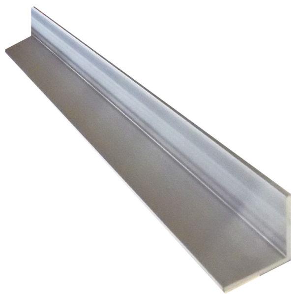 Aluminium Geometric Angle 20mm x 20mm x 1.6mm – 3 metre