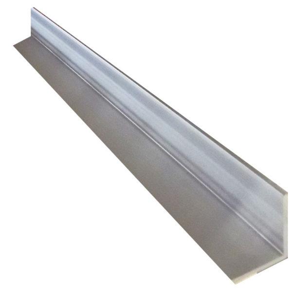 Aluminium Geometric Angle 25mm x 32mm x 3mm – 3 metre