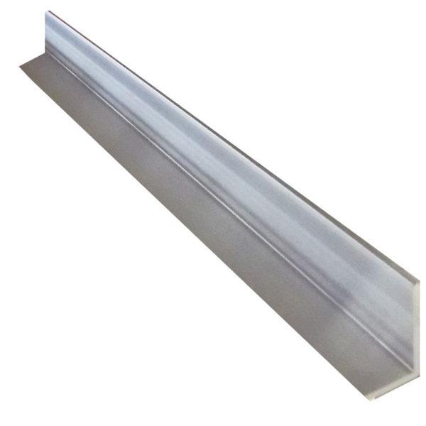 Aluminium Geometric Angle 25mm x 50mm x 1.6mm – 3 metre