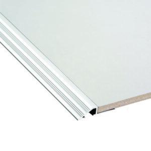 DTA Transition Aluminium 10mm x 3m (Plain)