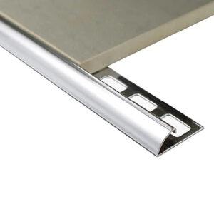 Stainless Steel Half Round 8mm x 2.5m (Grade 304)