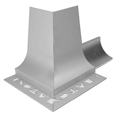 BAT APC Cove Combo Trim 10mm External Corner (Bright Silver)