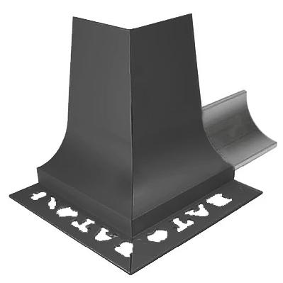 BAT APC Cove Combo Trim 8mm External Corner (Gloss Black)
