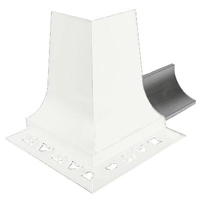 BAT APC Cove Combo Trim 10mm External Corner (Gloss White)