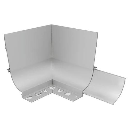 BAT APC Cove Combo Trim 8mm Internal Corner (Matt Silver)