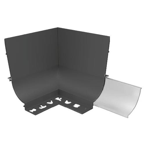 BAT APC Cove Combo Trim 8mm Internal Corner (Gloss Black)
