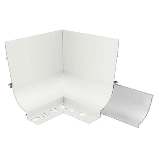 BAT APC Cove Combo Trim 10mm Internal Corner (Gloss White)