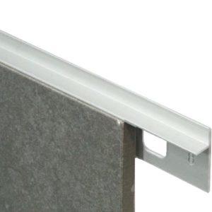 Birds Mouth Aluminum Trim 12mm x 3m (Matt Silver)