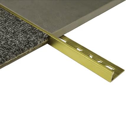 L-Angle Brass Trim 13.5mm x 3m