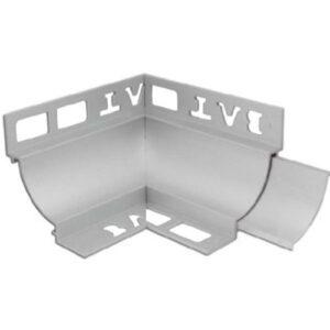 Cove Trim Internal Corner 12mm x 12mm (Matt Silver)