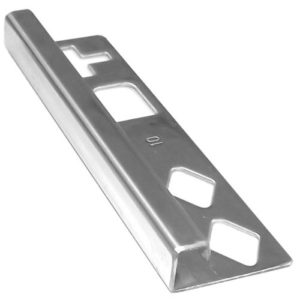 DTA Square Stainless Steel G316 Tile Trim 12mm x 3m