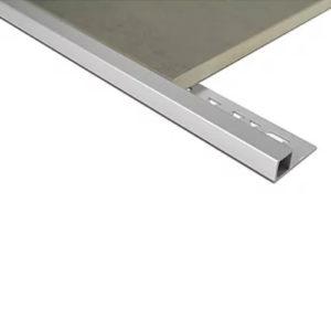 Mosaic Corner Angle Tile Trim 10.5mm x 3m (Bright Silver)