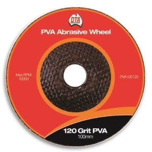 DTA PVA Abrasive Wheel 120 Grit