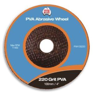 DTA PVA Abrasive Wheel 220 Grit