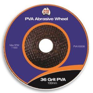DTA PVA Abrasive Wheel 36 Grit