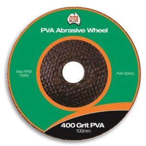 DTA PVA Abrasive Wheel 400 Grit