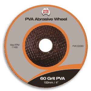 DTA PVA Abrasive Wheel 60 Grit