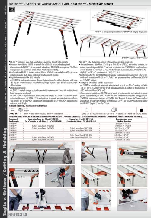 Raimondi BM 180 Modular Work Bench 1