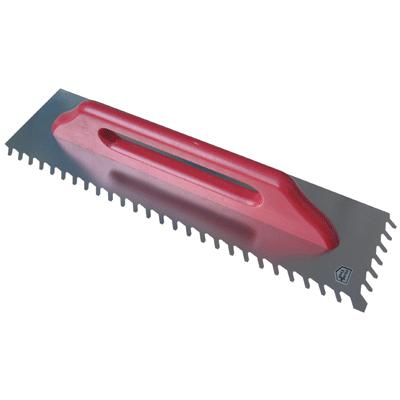 Long Blade Slant Ridge Trowel 6mm