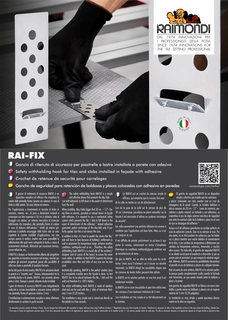 Raimondi RAI-FIX Hooks 6mm (500 Pack)