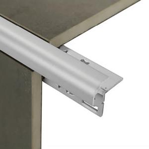 External Corner Trim 6mm x 3m (Bright Silver)