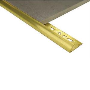 Half Round Brass 8mm x 2.5m