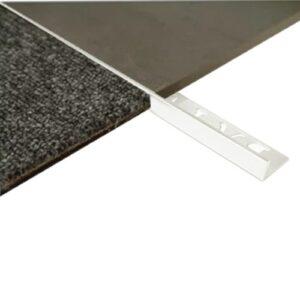 L Angle Aluminum Trim 20mm x 3m (Gloss White)