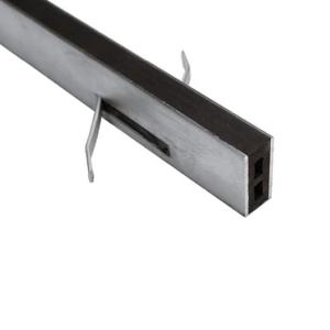 Mortarloc 25mm Zinc – 10mm Neoprene x 1.8 (Black)