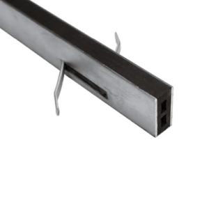 Mortarloc 50mm Aluminium – 10mm Neoprene x 1.8 (Black)