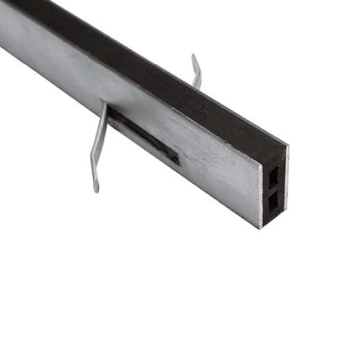 Mortarloc 50mm Brass – 6mm Neoprene x 1.8 (Grey)