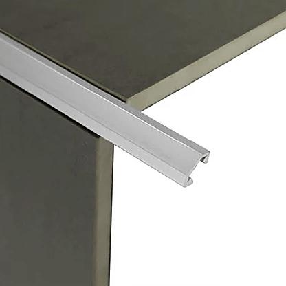 Unicorn Corner Trim 3m (Bright Silver)