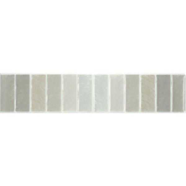 Acacia Grey Listello 65x300