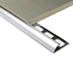 Half Round Trim Stainless Steel G316 8mm x 2.5m