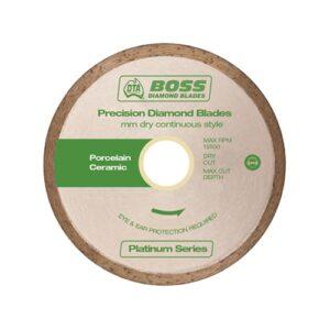 Boss Continuous Rim Dry Diamond Blade 115mm