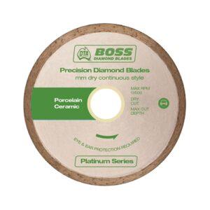 Boss Continuous Rim Dry Diamond Blade 125mm