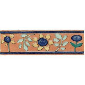 Desert Flowers Listello 65x200