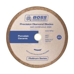 Boss Continuous Rim Wet Diamond Blade 200mm