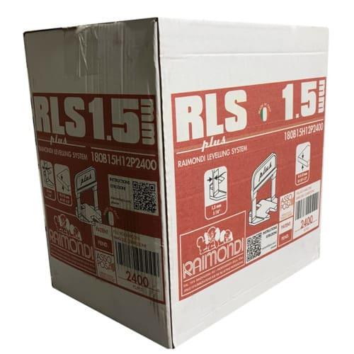Raimondi RLS Lippage System Clip Plus 2400 (1.5mm)