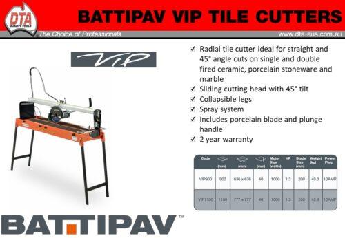 Battipav VIP 900mm Wet Saw