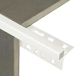 Mosaic Corner Guard Trim 6.5mm x 3m (Gloss White)