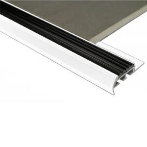 Stairnosing Trim 8mm x 3m (Gloss White)