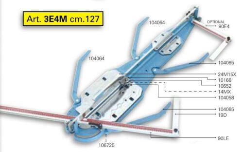 Sigma ART3E4M Tile Cutter 1270mm 1